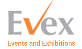 evex global event logo